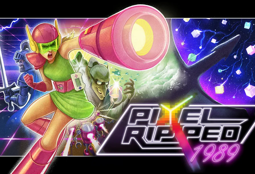 Pixel Ripped 1989 (2018)