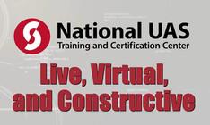 LiveVirtual and Constructive UAS Simulation Application