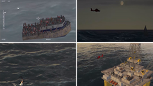 Simlat provides high-fidelity simulation for UAS based maritime application