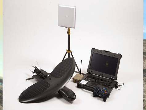 Simlat delivered Small-UAS Training & Simulation Systems to Prioria Robotics Maveric UAS