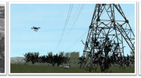 Simlat Introduces high-fidelity simulation for UAS based Utility inspection