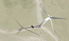 Wind Turbines Inspection UAS Simulation Application