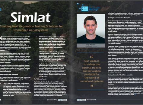 Simlat selected among the most trusted simulation solution providers of 2018 by Insights Success