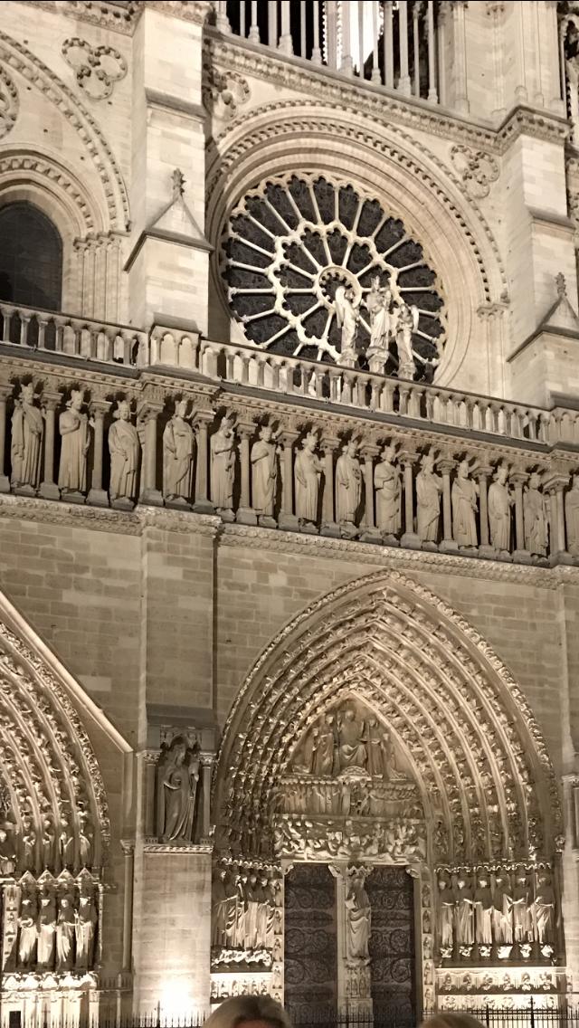 Notre-Dame éclairé