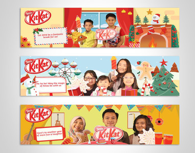 Kitkat Custom Seasonal Sleeve Designs
