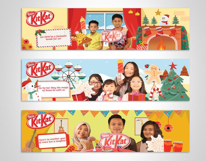 Kitkat Custom Seasonal Sleeve Designs