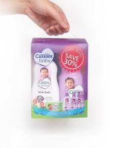 Cussons Baby Packaging Purple