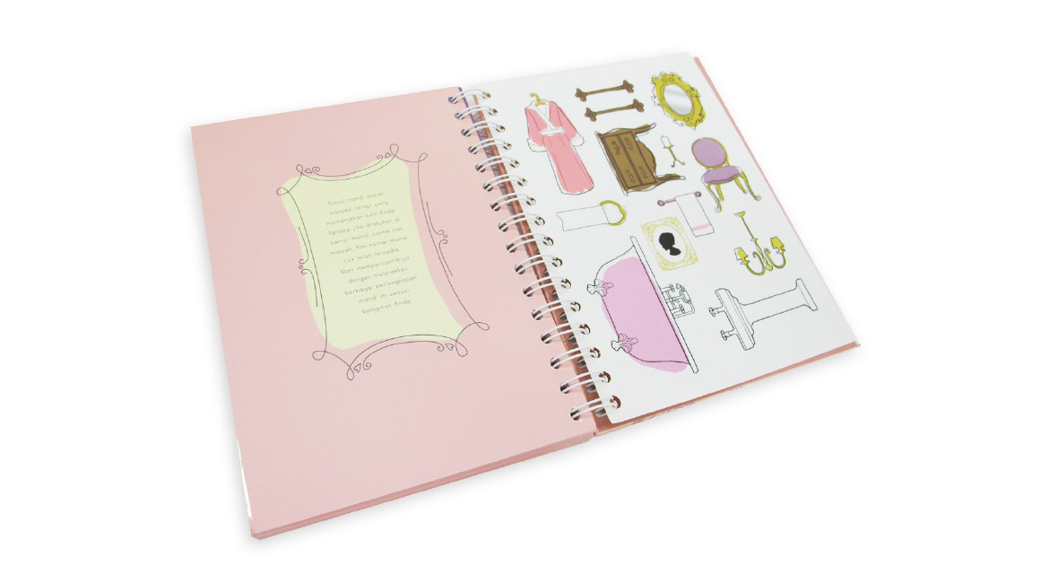 LUX Agenda Book Layout Design