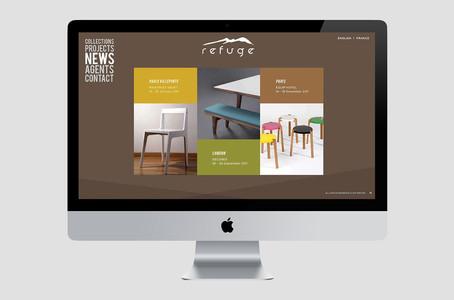 Refuge Website Homepage Preview
