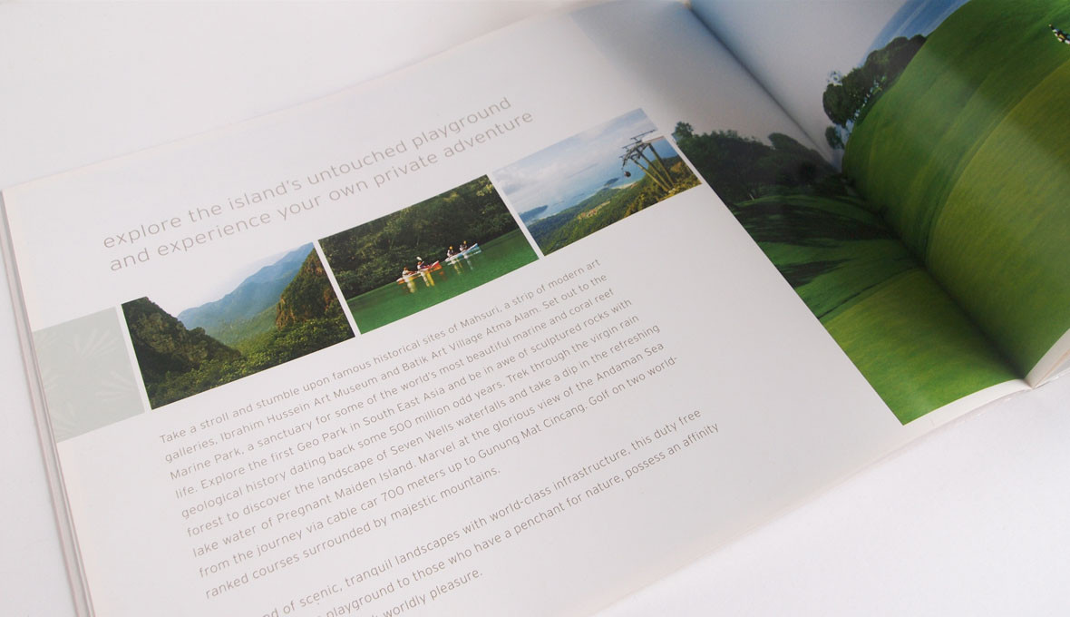 The Westin Langkawi Catalogue Content Design