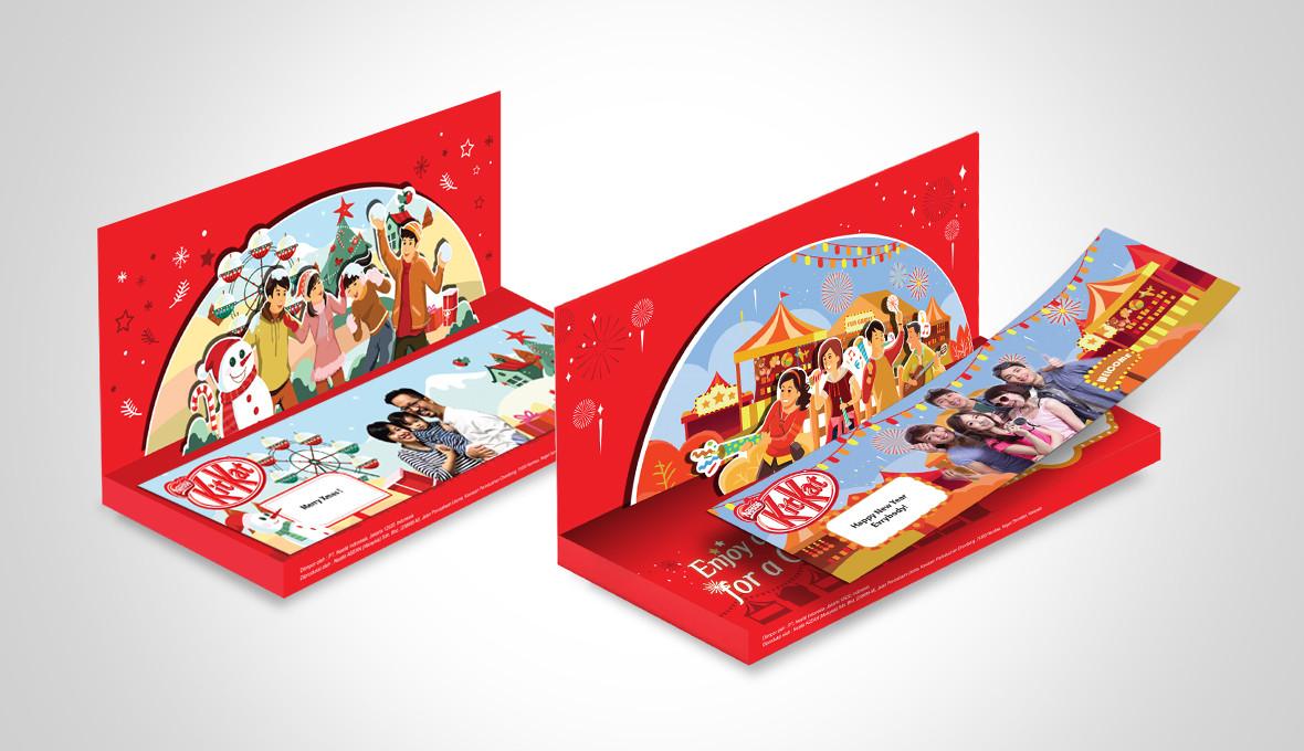 KitKat Seasonal Packaging Designs