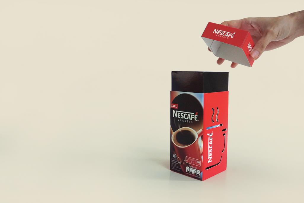 Nescafe Festive Pack Illustration