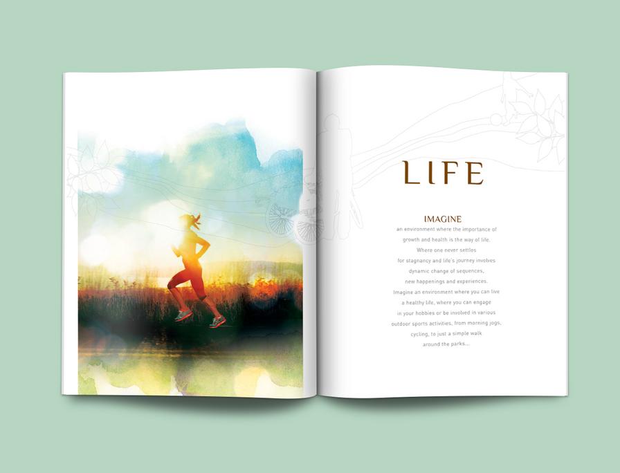 Vimala Hills Catalogue Layout Design