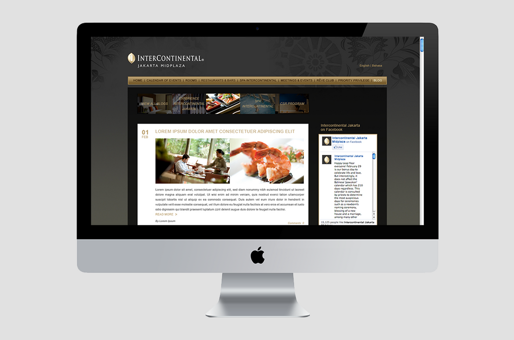Intercontinental web preview
