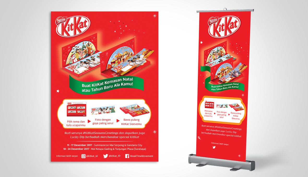 KitKat Christmas Banner