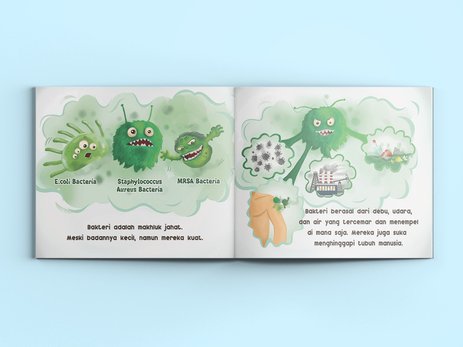 Nippon Spotless Booklet Layout
