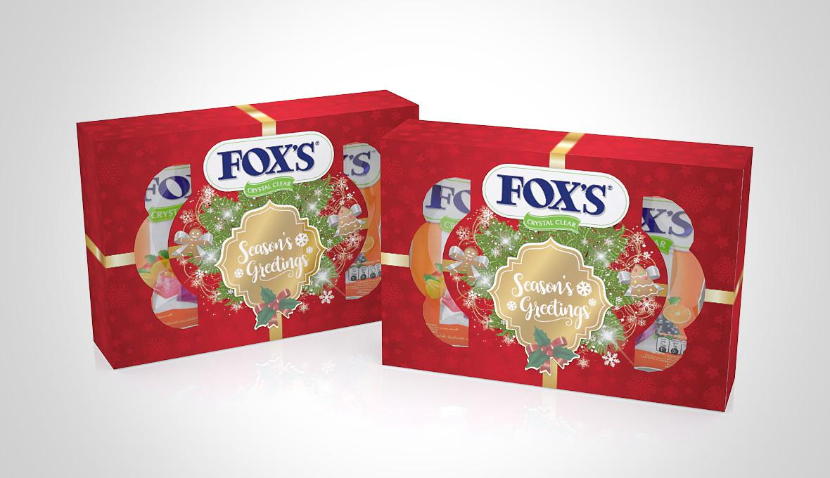 FOX's Christmas Packaging Design