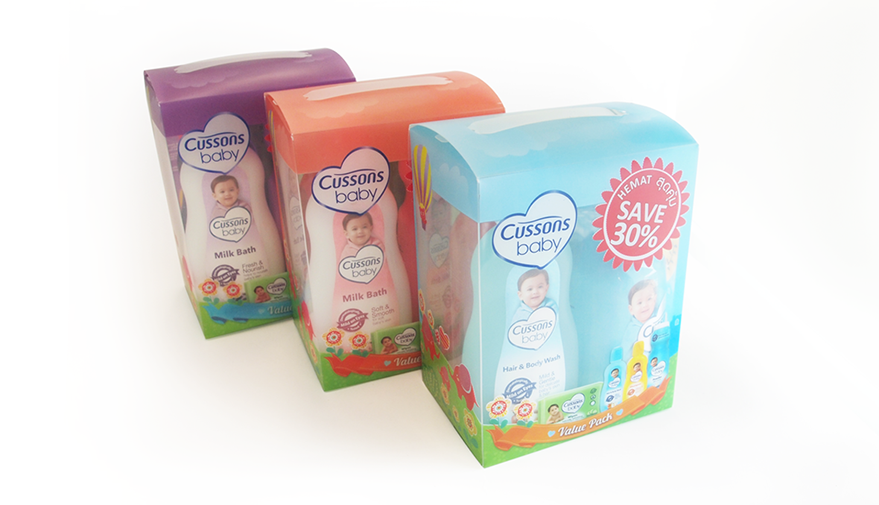 Cussons Baby Packaging All Variants