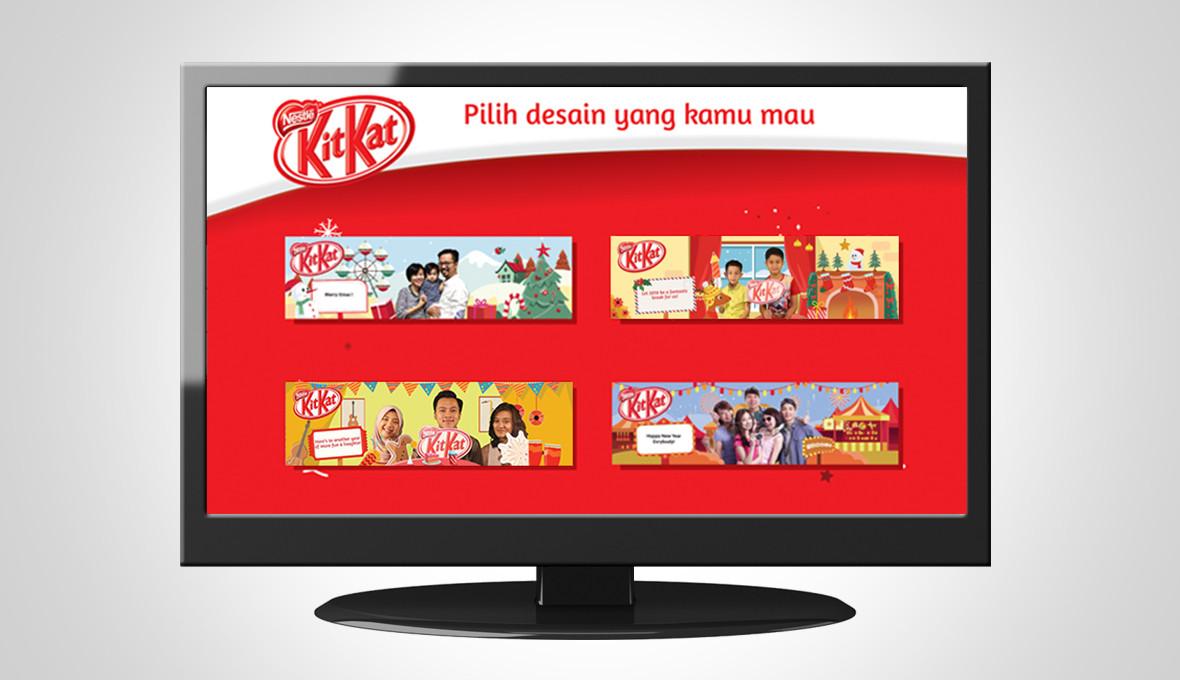 KitKat Activation Sleeve Designs