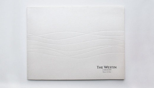 The Westin Langkawi Catalogue Cover Design