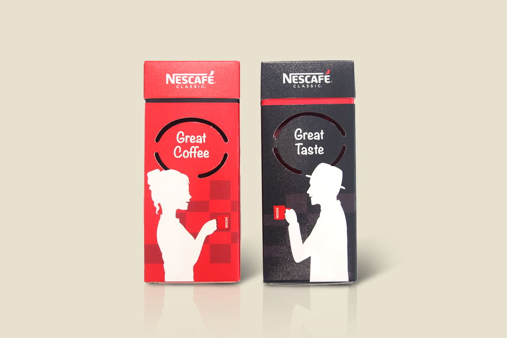 Nescafe Festive Pack Copy Designs