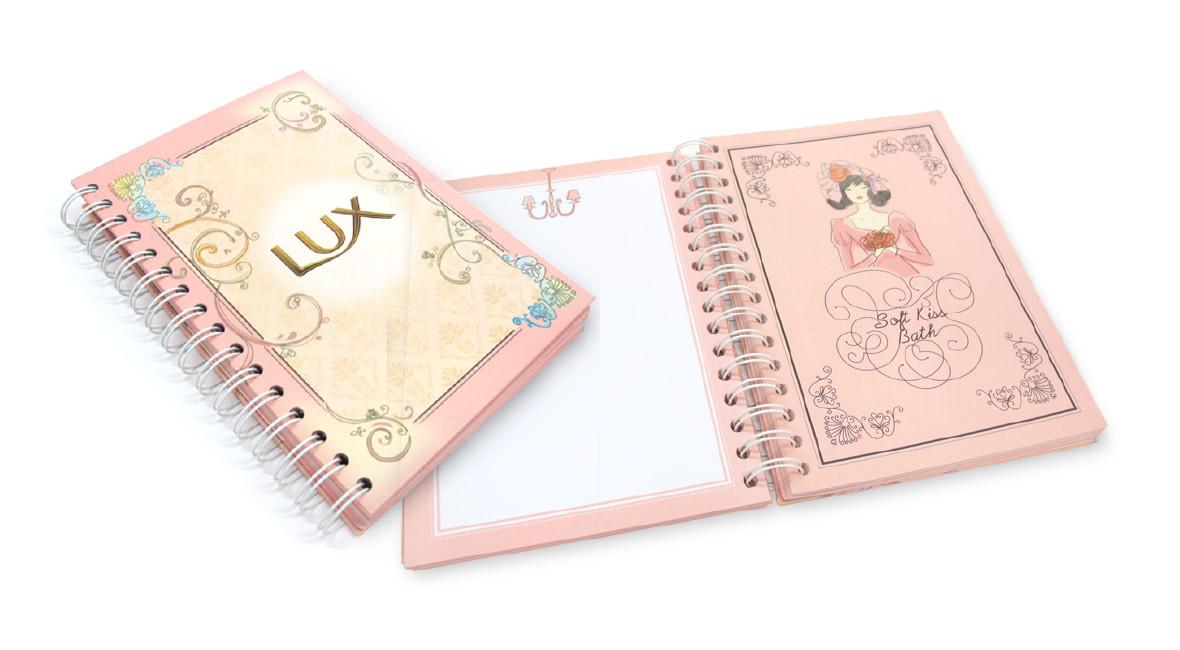 LUX Agenda Book Cover Design