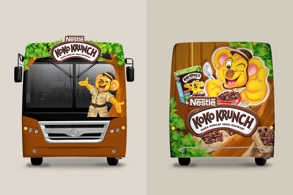 Koko Krunch Exterior Front and Back View