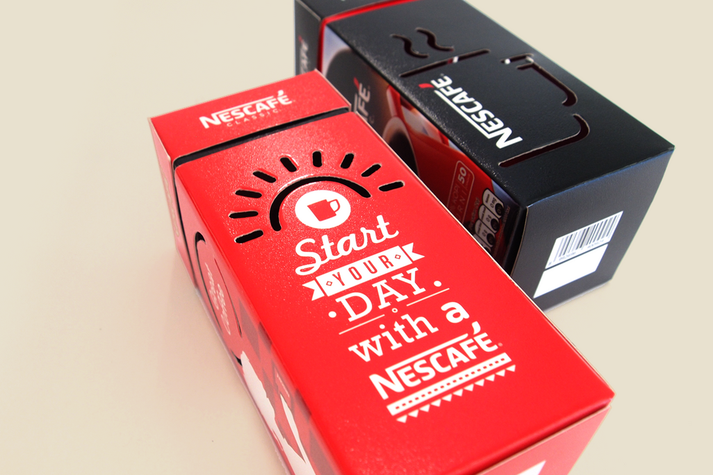 Nescafe Festive Pack Copy Design