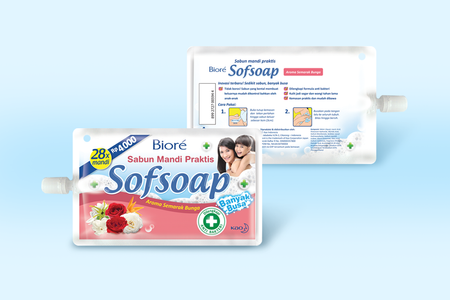 Sofsoap Aroma Semarak Bunga Packaging Design
