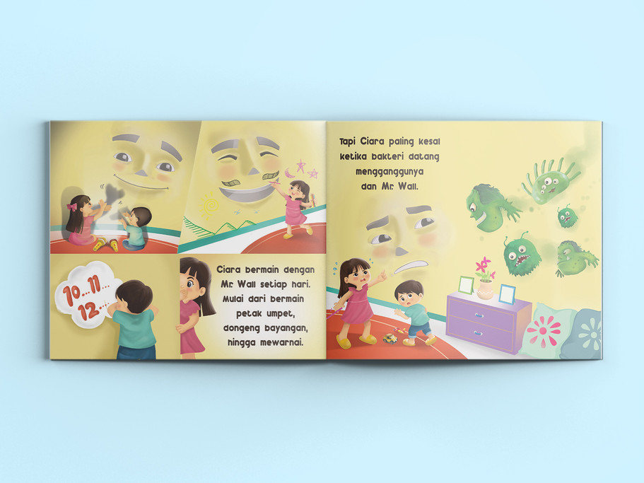 Nippon Spotless Booklet Page Design