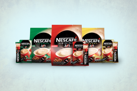 Nescafe 3 in 1 Packaging Design