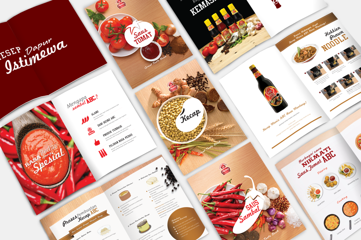 ABC Saus Spesial Page Design Preview