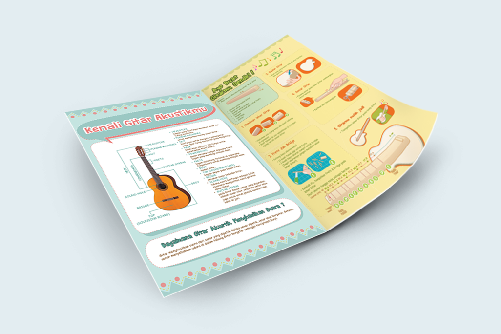 Buletin Musik Yamaha Alternative Content Layout Design