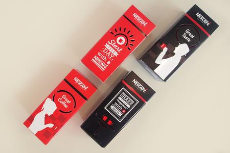 Nescafe Festive Pack Back and Front Design