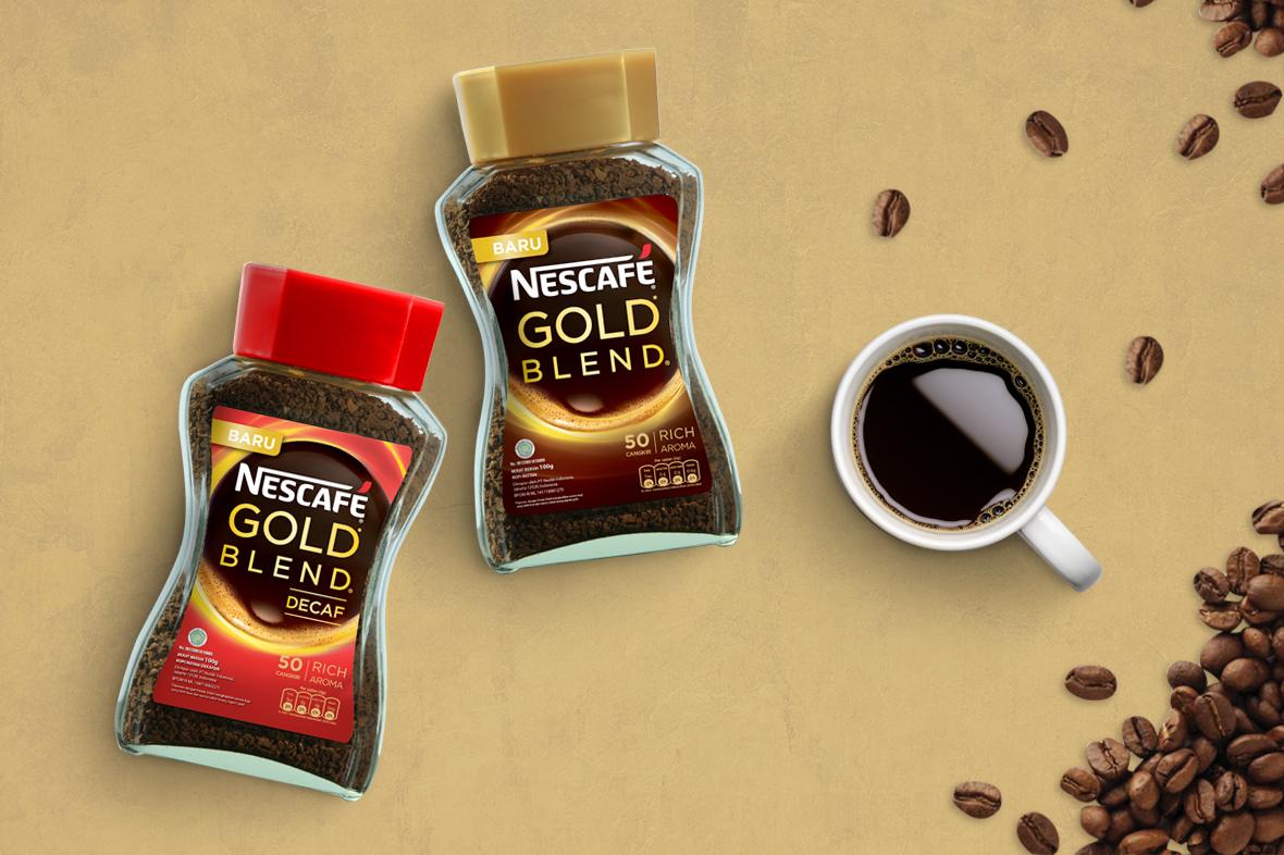 Nescafe Gold Blend Packaging Design