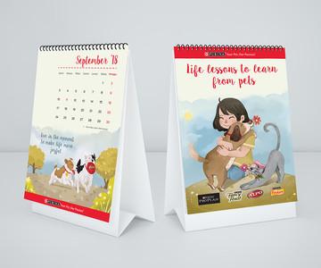 Purina Calendar Park Design