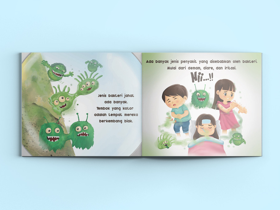 Nippon Spotless Booklet Design