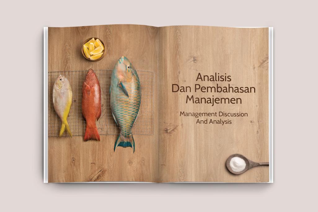 Ranch Market Annual Report Page Design