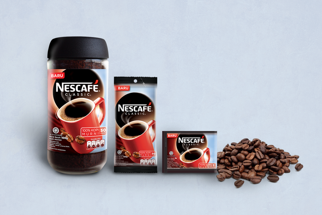Nescafe Classic Packaging Design