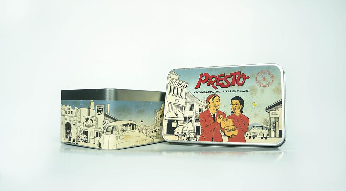 Presto Box Design