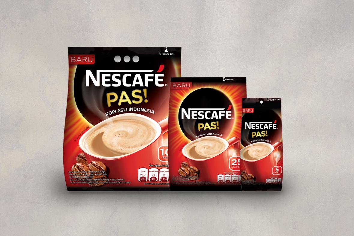 Nescafe Pas Bag Design
