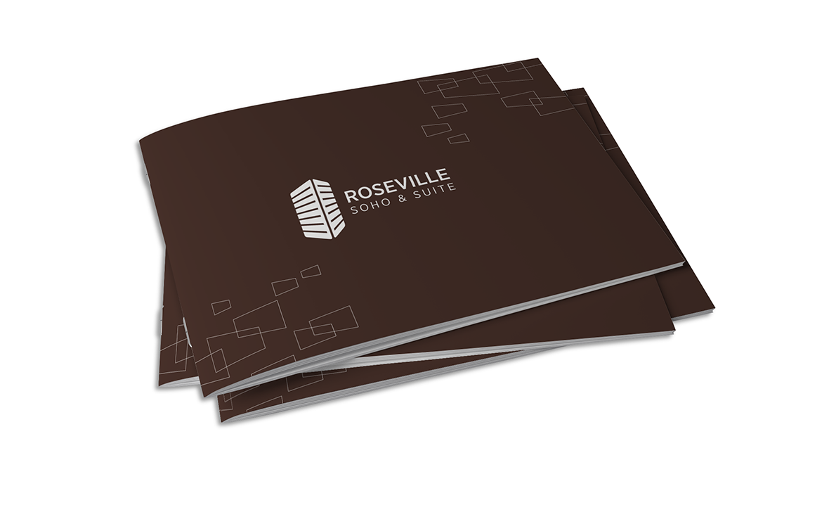 Roseville Catalogue Cover Design