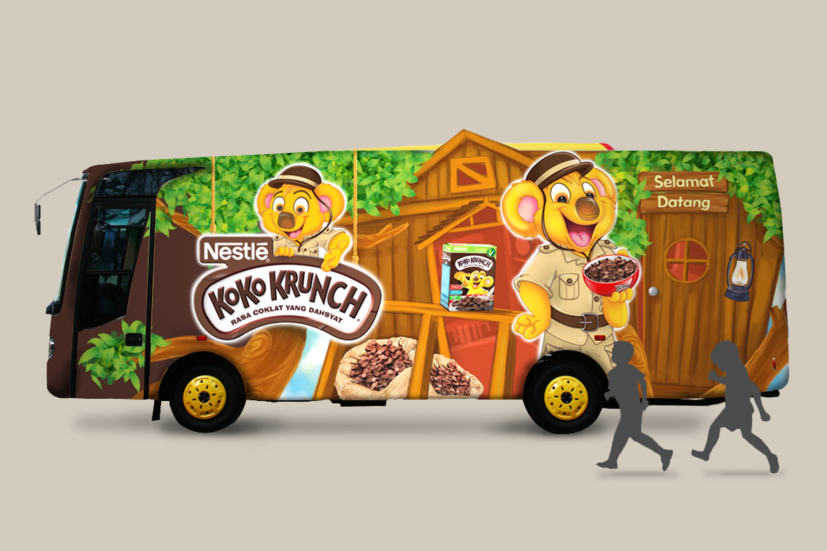 Koko Krunch Exterior Left Design