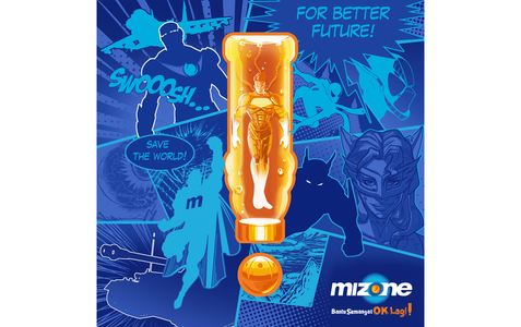 Mizone Comic Design