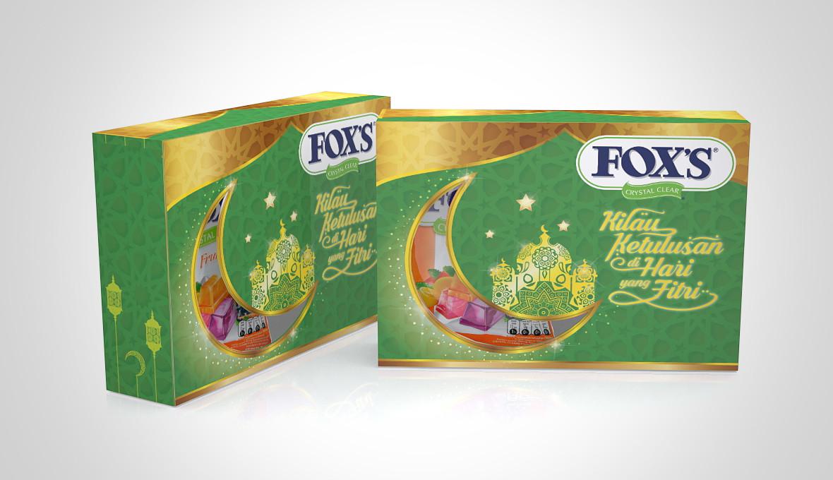 FOX's Lebaran Packaging Design