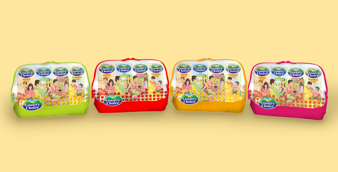Country Choice Bundled Pack Designs