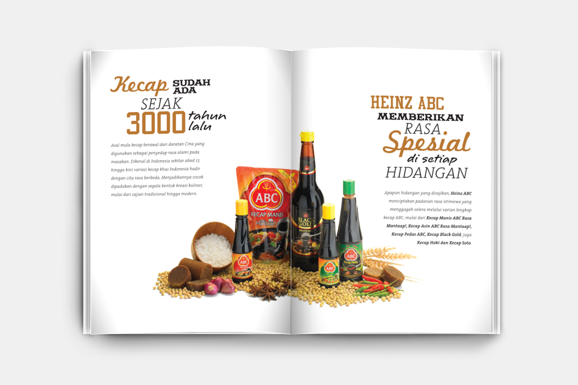 ABC Saus Spesial Booklet Layout Design