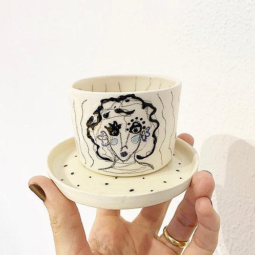 Süslüler l Kahve Bardağı l Mini Saksı