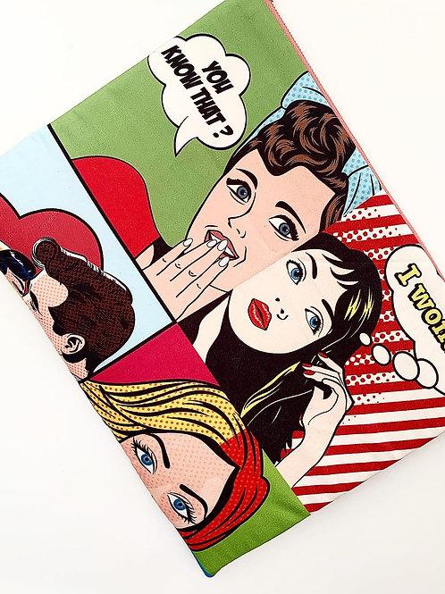 Pop Art Notebook Case