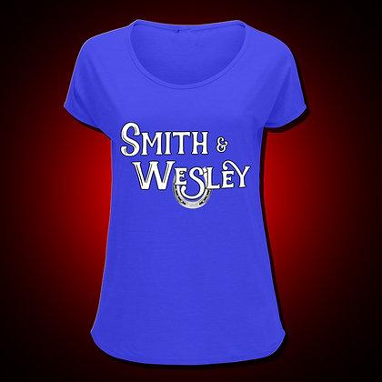 Ladies' Blue Logo T-shirt